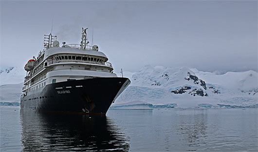 Island Sky Antarctic Cruise Ship