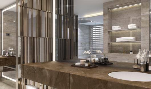 Crystal Endeavor Owner suite bathroom