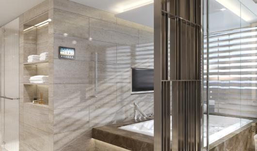 Crystal Endeavor Owners suite bathroom
