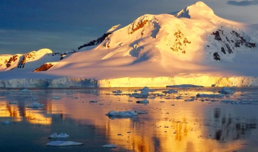 Sunset on the Antarctic Peninsula by Emma Magrath