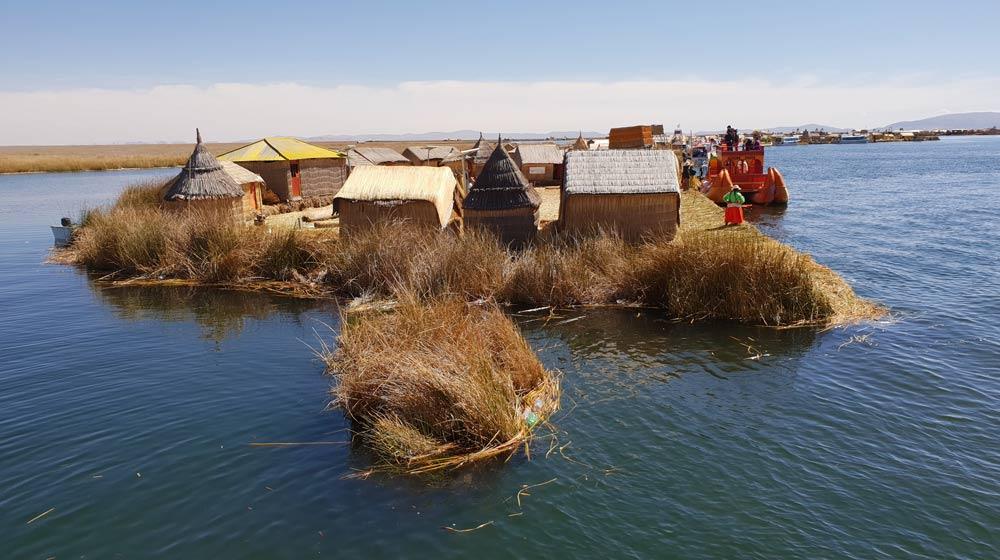 Uros reed islands Lake Titicaca, Peru By Cheryl Gale