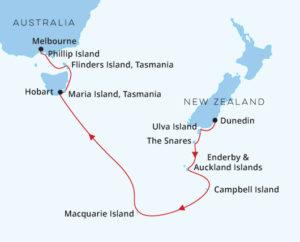 Dunedin to Melbourne
