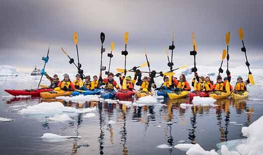 Polar Latitudes Kayakers