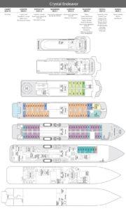 Crystal Endeavour Deck Plan