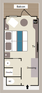 Deluxe Stateroom Le Lyrial