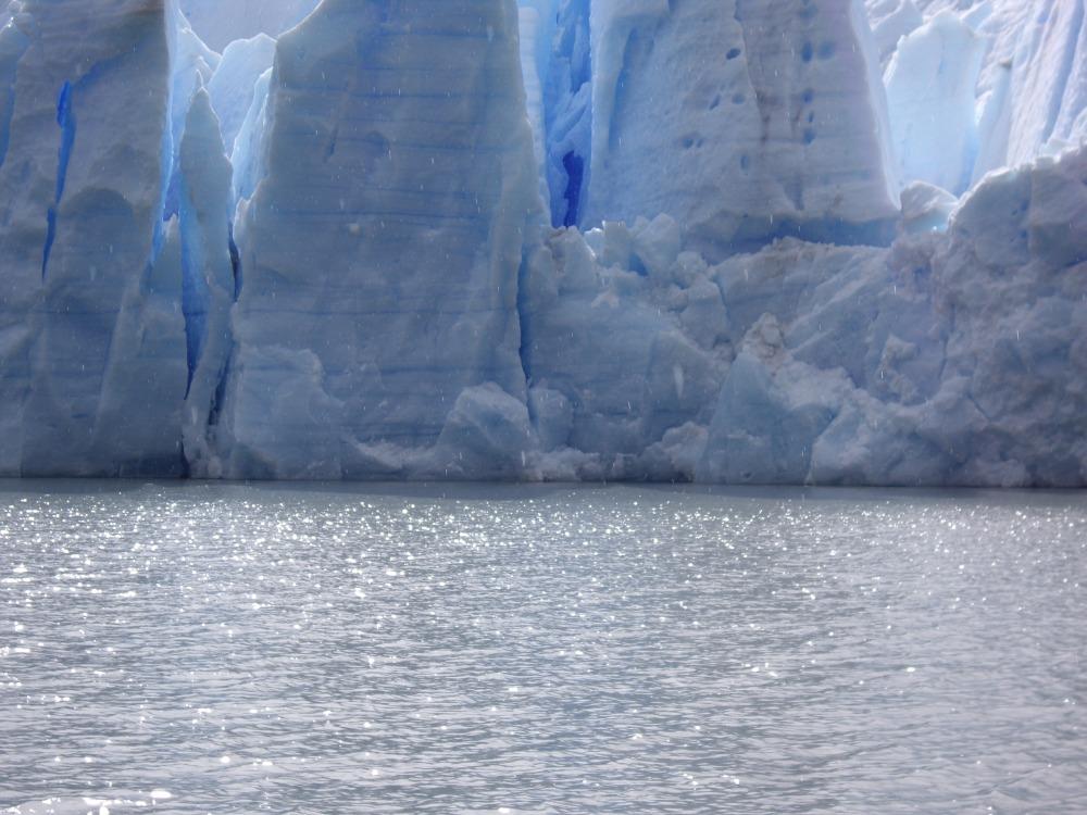 Grey Lake Glacier, Torres del Paine by Carlisle Procter