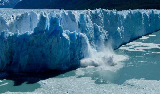 Perito Moreno Glacier Calving, Patagonia by Joseph Reich
