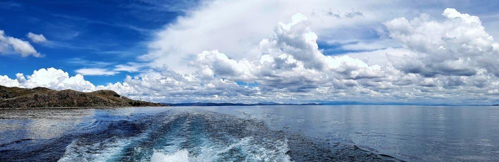 Blue Lake, Lake Titicaca by Antony Parakkal