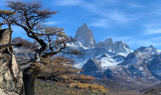 Patagonian Mountains by Vikki Oates