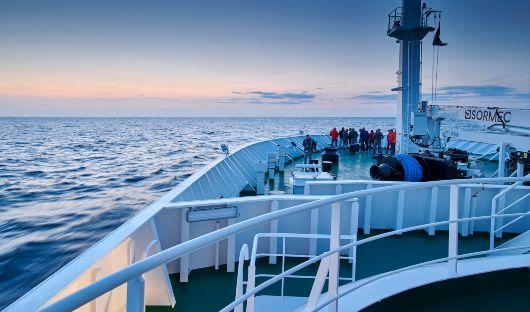 Hondius At Sea