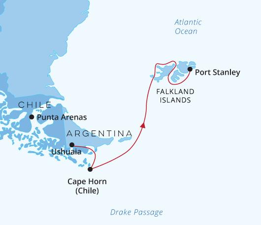 Magellan Explorer - Ushuaia, Cape Horn & the Falklands