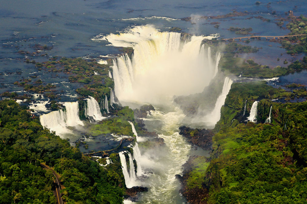 Iguazu Falls by Sharon Modica
