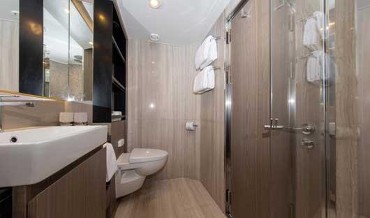 Infinity Suite bathroom World Explorer