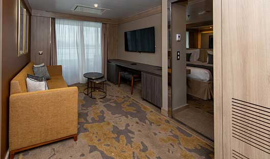 World Explorer Owners suite lounge