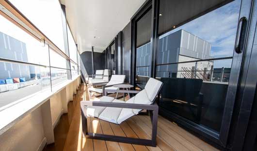 World Explorer Superior Suite Balcony