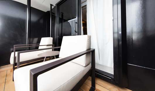 World Explorer Veranda Suite Balcony
