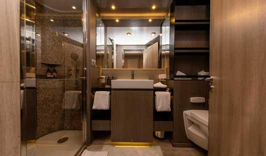 World Explorer Veranda Suite bathroom