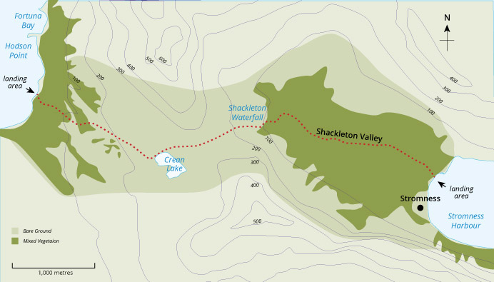 Shackleton Walk Guide
