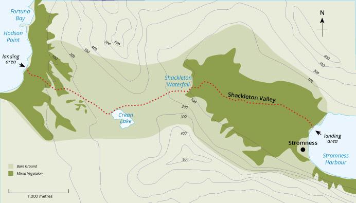 Shackleton Walk Guide