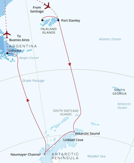 Nat Geo Endurance Antarctica-Falklands