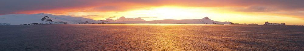 Antarctic Sunset by David Kaufmann