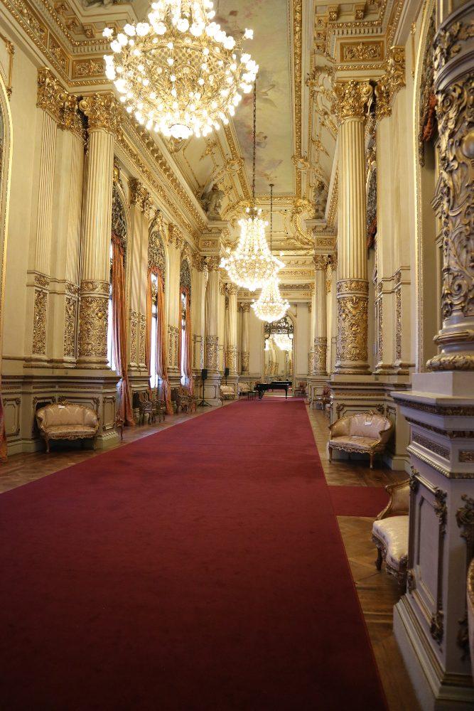 Salon Dorado in the Teatro Colon, Buenos Aires by Donna Clayton-Smith