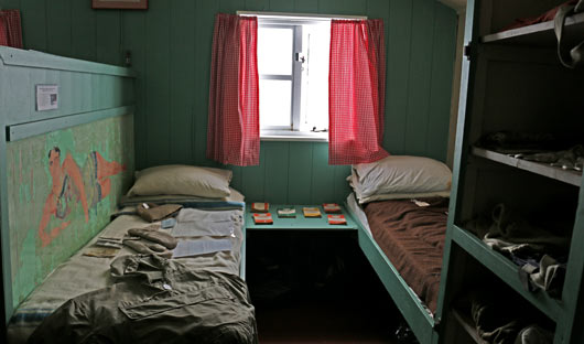Port Lockroy beds