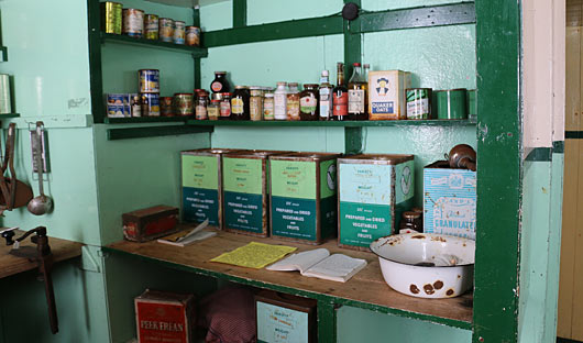 Port Lockroy pantry