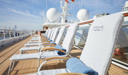 Hanseatic Inspiration, Sun Deck