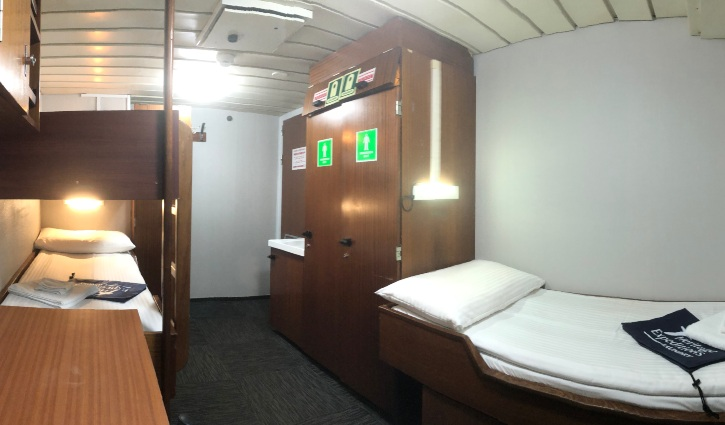 Main Deck Triple Cabin, Spirit of Enderby