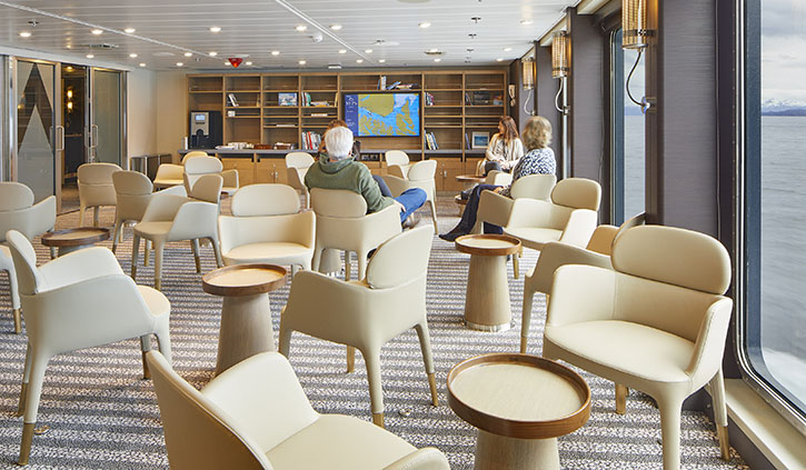 Magellan Explorer Photography Library and Lounge