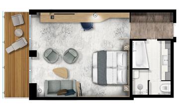 ultramarine penthouse suite