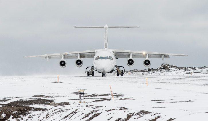 Antarctica 21 Plane Runway