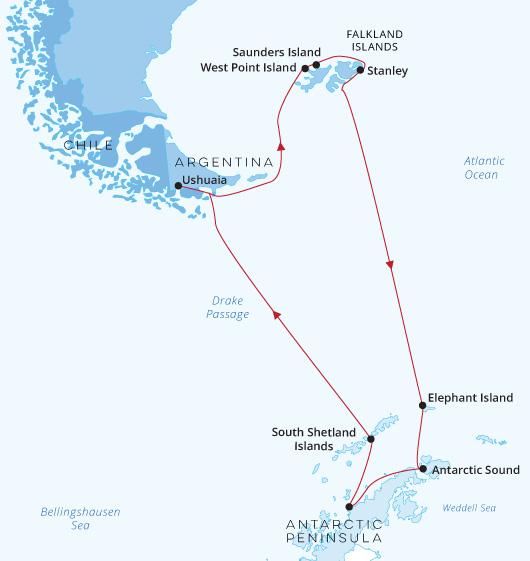 ATC Silver Cloud Antarctica Falklands 2021-22
