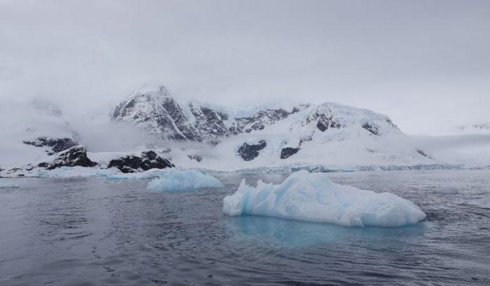 Floating Iceberg Antarctica