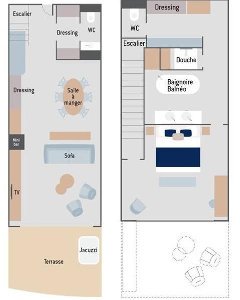 Le Commandant Charcot Duplex Suite