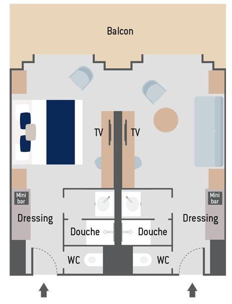 Le Commandant Charcot Prestige Suite