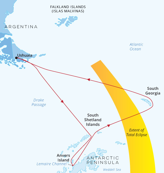 World Explorer Solar Eclipse with South Georgia