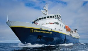 National Geographic Explorer at Sea