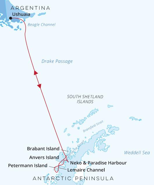 Ortelius - Antarctica Base Camp