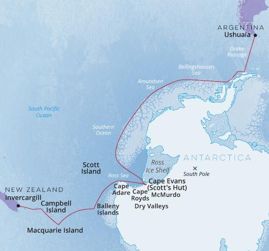 Ortelius Ross Sea