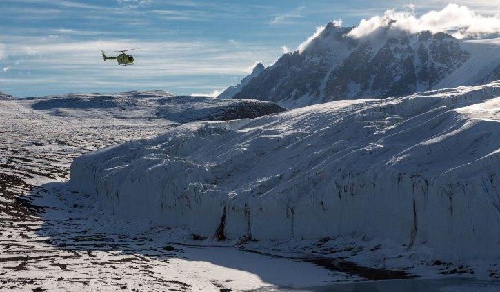 Oceanwide - Dry Valley Canada Glacier Ross Sea