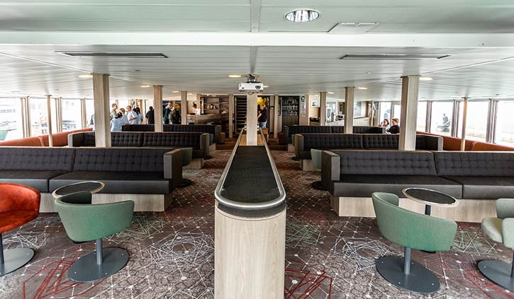 Plancius, Observation Lounge