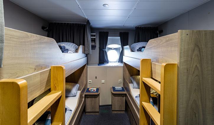 Plancius Quadruple Cabin