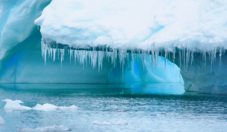 Ice formation Antarctica
