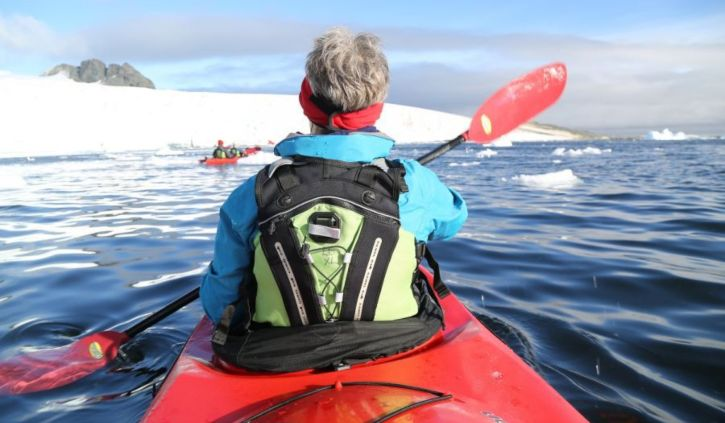 Kayaking, Oceanwide Expeditions