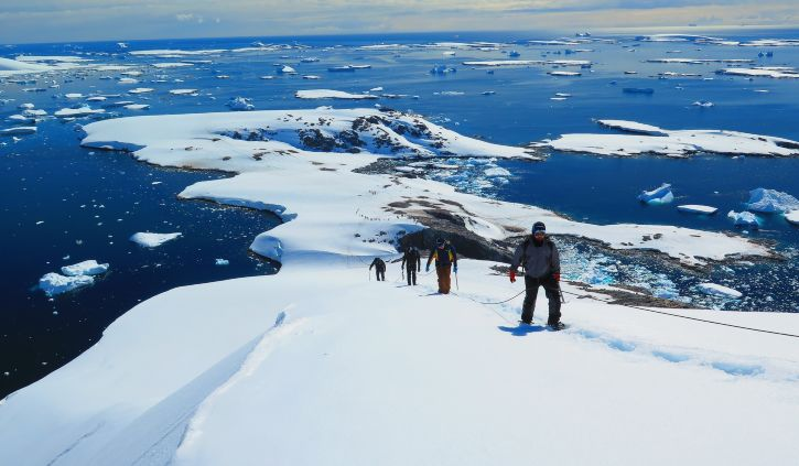 Mountaineering, Oceanwide Expeditions