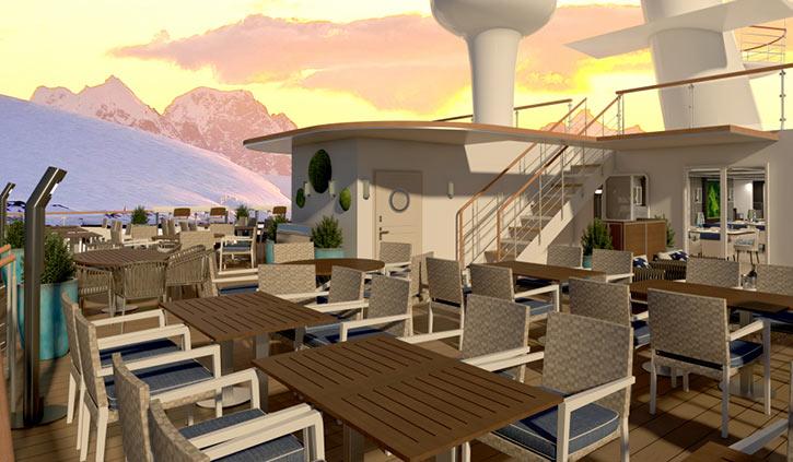 Ocean Victory - Albatros BBQ Deck