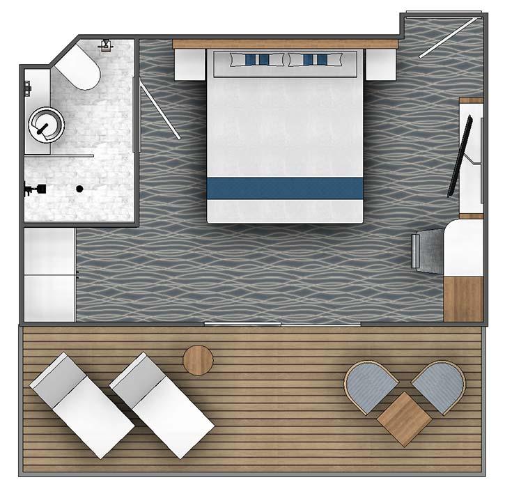 Ocean Victory B2 Balcony Suite