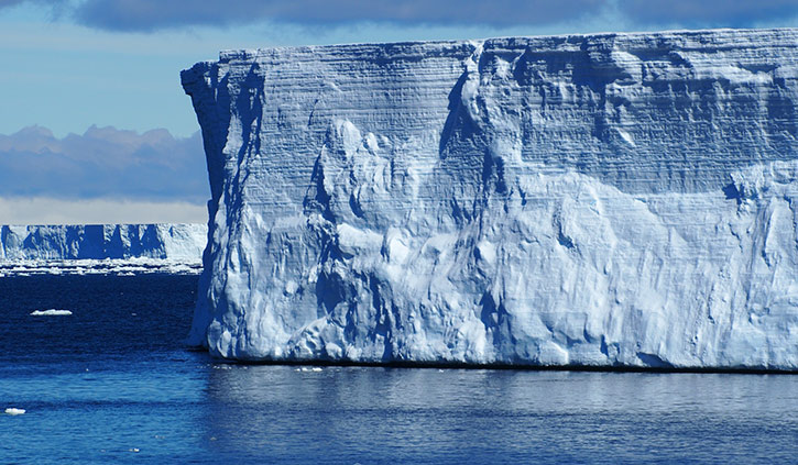 Weddell Sea Tabular Icebergs